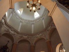 153 - Forlì. Particolare interno. Santuario di Santa Maria delle Grazie di Fornò