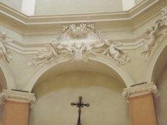 182 - Forlì -Particolare interno Santuario-di-Forno- sec XV
