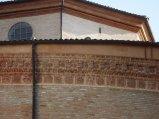 169 - Forlì. Santuario di Santa Maria delle Grazie di Fornò, particolare esterno