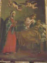 200 - Forlì. Particolare Santuario di Santa Maria delle Grazie di Fornò