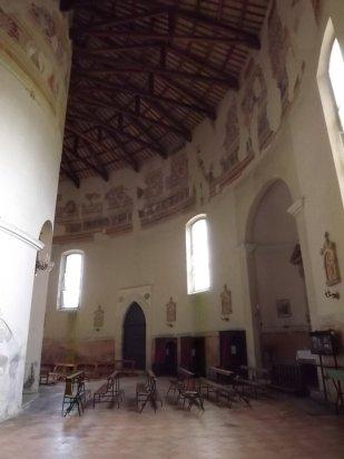 177- Forlì - Interno Santuario-di-Forno- sec XV