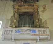 178 - Forlì -Particolare interno Santuario-di-Forno- sec XV