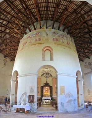 174 - Forlì - Interno Santuario-di-Forno- sec XV