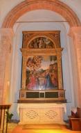 63 - Particolare. Altare cappella dei ferri, laterale - Chiesa di San Mercuriale (Forlì)