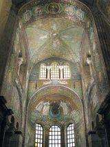 25 - Ravenna -Basilica di San Vitale. I mosaici dell'abside e del presbiterio
