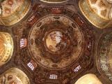 28 -Ravenna. La Basilica di San Vitale. Scorcio Interno della cupola particolare