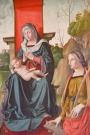 58 - Particolare del Dipinto della Vergine Tra San Giovanni e Santa Caterina - Chiesa di San Mercuriale (Forlì)