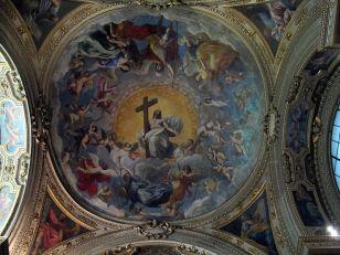 100 - Duomo di Ravenna, cappella Aldobrandini del ss. sacramento, affresco di Guido Reni e aiuti (1620)
