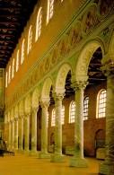 155 - Ravenna. Basilica di Sant'Apollinare in Classe. Particolari sulla destra