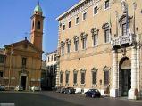 67 - Piazza Odelaffi. Palazzo Pauluzzi e Chiesa e Monastero del Corpus Domini di fronte al duomo