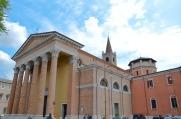 72 - Forlì . Cattedrale o Duomo di Santa Croce.