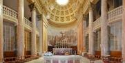 74 - Altare Interno - Duomo di Forlì e Cattedrale di Santa Croce (Forlì)Il soffitto della navata centrale