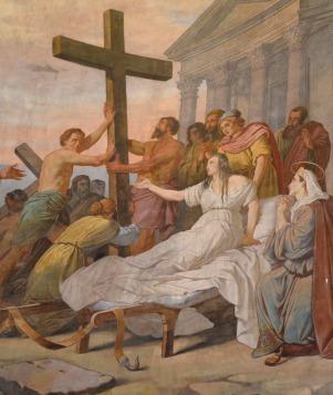 75 - Particolare del Dipinto - Duomo di Forlì e Cattedrale di Santa Croce (Forlì)