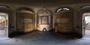 59 -Ravenna. Interno della tomba di Dante Alighieri