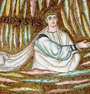 168 - Ravenna. Basilica di Sant'Apollinare in Classe. Mosaico