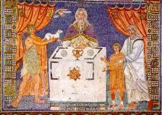 170 - Ravenna. Basilica di Sant'Apollinare in Classe. Mosaico