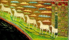 178 - Ravenna. Basilica di Sant'Apollinare in Classe. Mosaico
