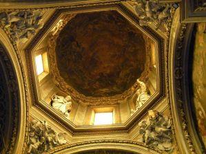 87 - Soffitto della cupola della cappella della Madonna del Fuoco nel Duomo di Forlì