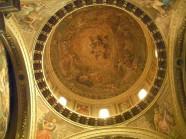 90 - Soffotto della cupola della cappella del Santissimo Sacramento nel Duomo di For