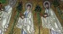 69 - Battistero degli Ariani. Particolare del Corteo dei Santi