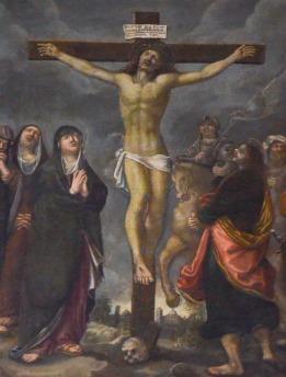 96- Dipinto della Crocifissione - Duomo di Forlì e Cattedrale di Santa Croce (Forlì)