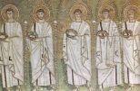 46 -Ravenna, sant'apollinare nuovo. Santi Martiri (seconda metà del VI secolo
