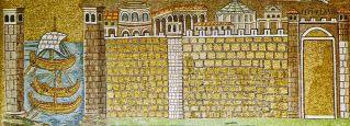 48 - Ravenna-sant'apollinare-nuovo-il-porto-di-classe-inizio-del-vi-secolo
