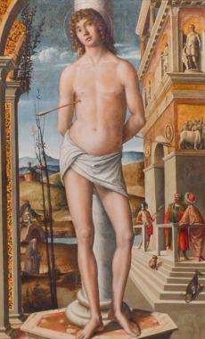 97 - Dipinto di San Sebastiano - Duomo di Forlì e Cattedrale di Santa Croce (Forlì)