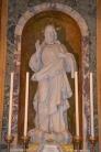 89 - Particolare della cappella. Statua del Cristo Redentore - Duomo di Forlì e Cattedrale di Santa Croce (Forlì)