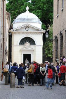 57 -Ravenna. Tomba di Dante e Basilica di San Francesco