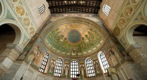 159 - Ravenna. Basilica di Sant'Apollinare in Classe. Il catino absidale