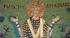165 - Ravenna. Basilica di Sant'Apollinare in Classe. Il primo vescovo di Ravenna