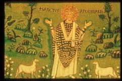 164 - Ravenna. Basilica di Sant'Apollinare in Classe. Il primo vescovo di Ravenna