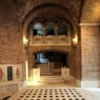 130 - Ravenna. Cripta Rasponi e giardini pensili del palazzo della provincia di Ravenna
