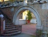 126 - Ravenna. Cripta Rasponi e giardini pensili del palazzo della provincia di Ravenna