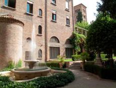 124- Ravenna. Cripta Rasponi e giardini pensili del palazzo della provincia di Ravenna