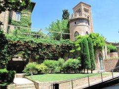 117 - Ravenna. Cripta Rasponi e giardini pensili del palazzo della provincia di Ravenna