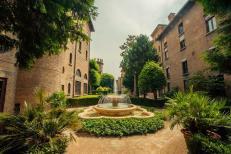 122 - Ravenna. Cripta Rasponi e giardini pensili del palazzo della provincia di Ravenna