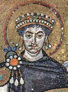 31,1 - Basilica di San Vitale, corteo Gustiniano, particolare