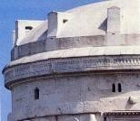 52 - Mausoleo di Teodorico a Ravenna. Part. della calotta-