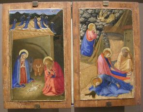 108 - Natività e Preghiera nell'orto di Beato Angelico