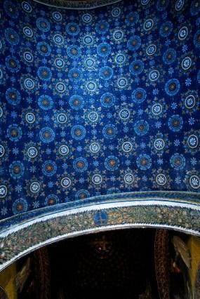 14 - Ravenna Mausoleo di Galla Placida particolare