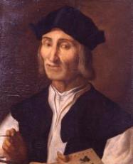 107- Ritratto di Marco Palmezzano di un anonimo del XVI secolo