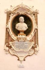 90 - Cesena Palazzo Ghini, dettaglio del salone