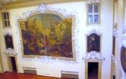 92 - - Palazzo Ghini, salone, dettaglio affresco