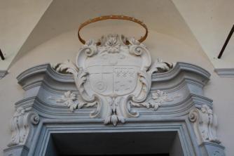 85 - Cesena Palazzo Ghini, dettaglio.