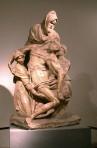 137 - Firenze. Il Museo dell'Opera del Duomo. Pietà di Michelangelo