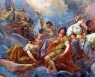 14 - Cesena - Affresco di Giaquinto nel Duomo.
