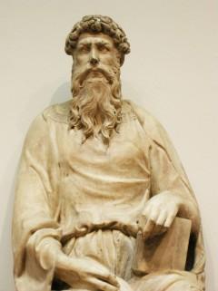175 - Firenze. Il Museo dell'Opera del Duomo. San Giovanni Evangelista di Donatello.