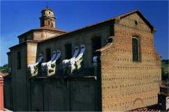 99 - Cesena. Facciata e corpo della chiesa Sant'Agostino